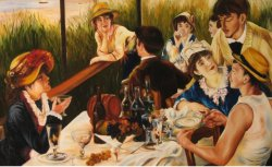 An old master's(RENOIR) replica