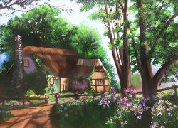 Countryside hut